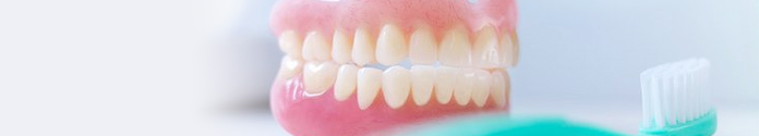 You can use a new set of dentures to replace damaged teeth.